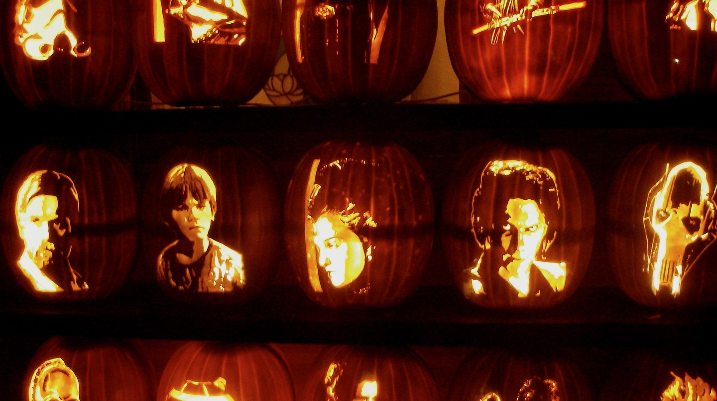 43 Incredibly Clever Pumpkin Carvings For Halloween Haters