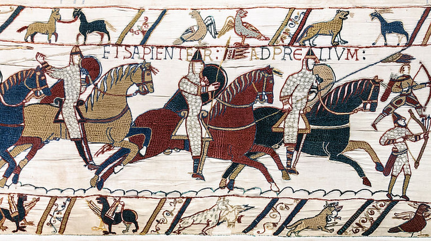 Scene from the Bayeux Tapestry | © Myrabella/WikiCommons