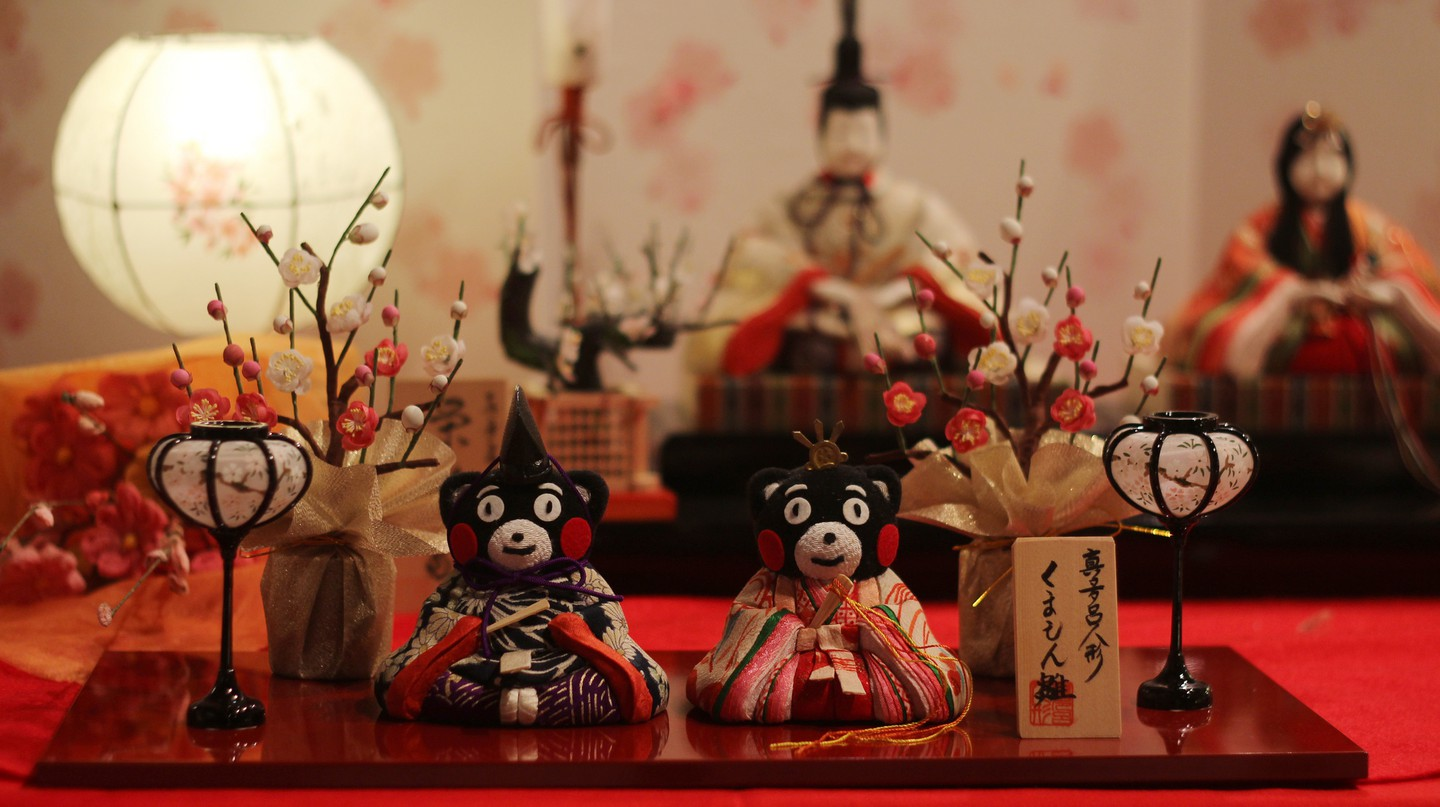Kumamon as hina dolls for Girls' Day | © Japanexperterna.se/Flickr