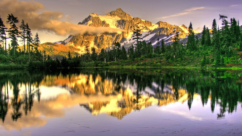 Mt. Shucksan in the North Cascades | © Andrew E. Larsen/Flickr