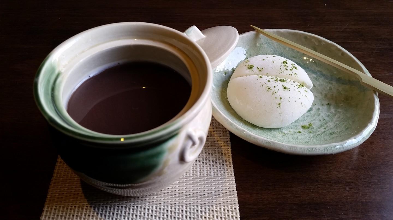 Rum Oshiruko with Mochi Ice Cream at Bar Goto | © Bar Goto
