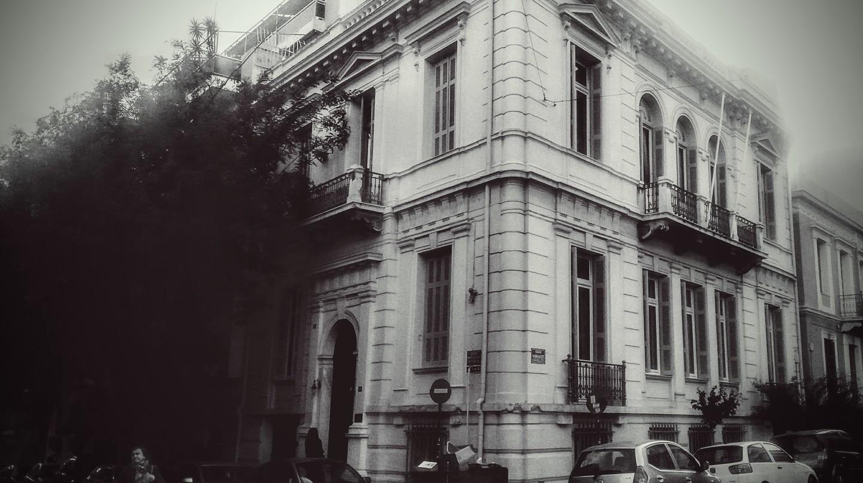 The Swedish Institute at Athens   © Ethel Dilouambaka