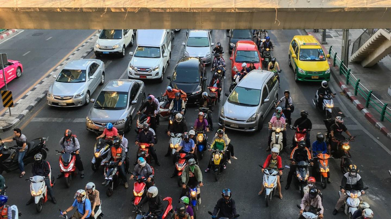 Bangkok Traffic  | © Courtesy of Joe deSousa/Flickr
