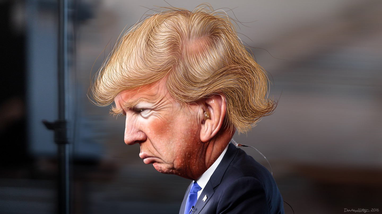 Donald Trump | © DonkeyHotey/Flickr