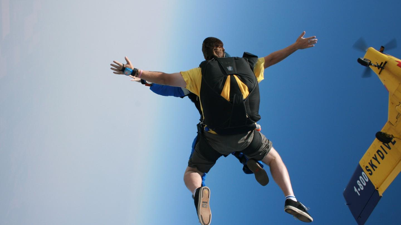 Skydive | © Morgan Sherwood/Flickr