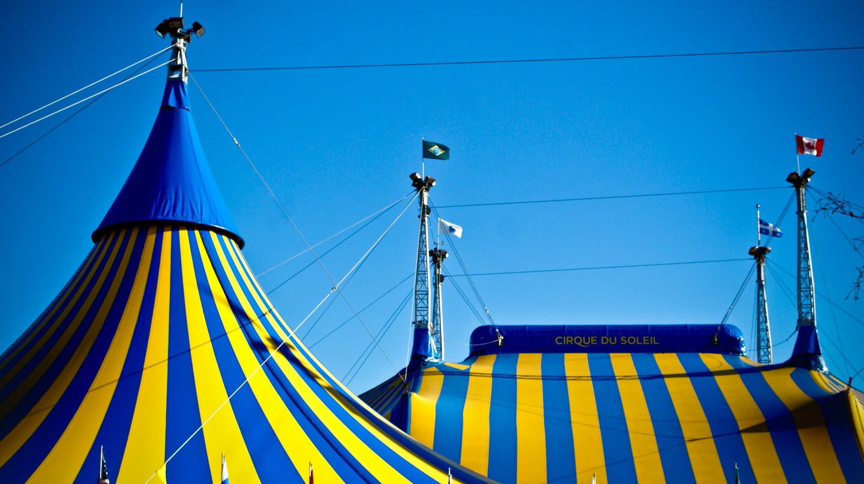 Cirque du Soleil big tops | © Dan Queiroz/Flickr