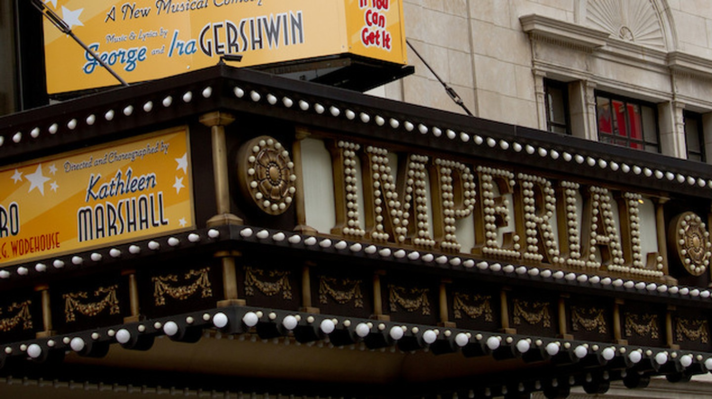 Imperial Theatre, where 'The Boy from Oz' opened on Broadway in 2003 | © Broadway Tour/Flickr