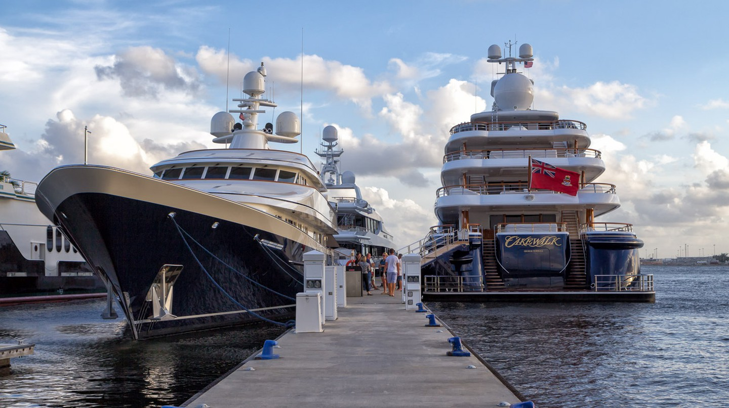 Magnificent yachts by the thousands can be seen during the Fort Lauderdale International Boat Show | Courtesy of John Spade/Flickr