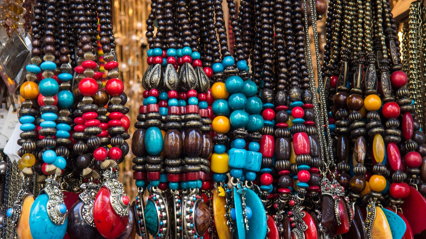 Beaded jewellery | © Andrew Moore/Flickr