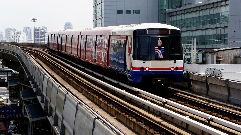 Skytrain Bangkok | © Bernard Spragg. NZ/Flickr