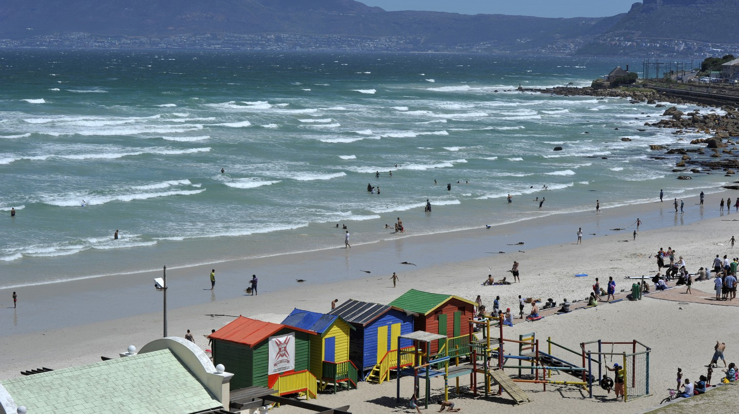 Muizenberg Beach, Cape Town ©South African Tourism/Flickr