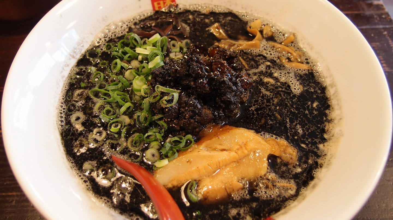 Black tonkotsu ramen from Nagi Ramen