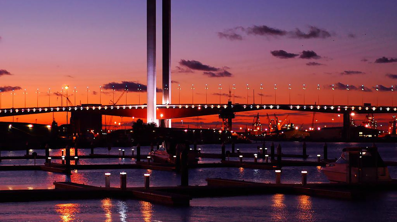 Bolte Bridge, Melbourne   © Jes/WikiCommons