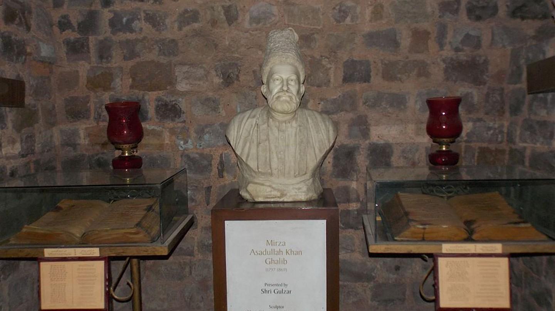 Bust of Mirza Ghalib | © Anwaraj/WikiCommons