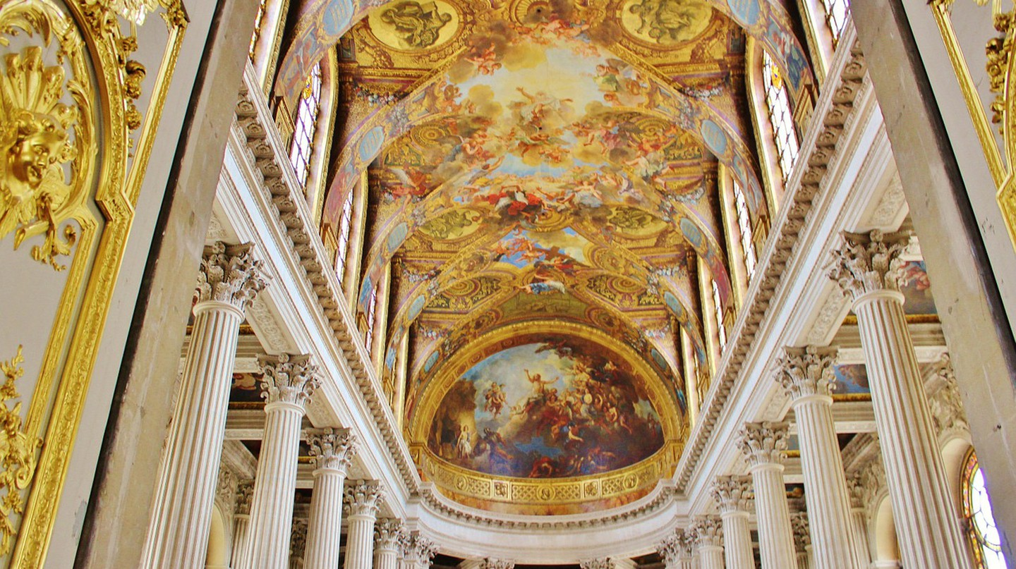 Chapel at the Palace of Versailles │© Mariamichelle
