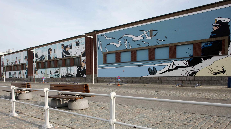 Follow Brussels' trail of comic strip murals