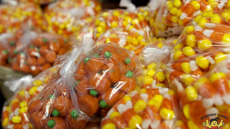 Candy Corn & Pumpkins | © Skye Greenfield, Economy Candy