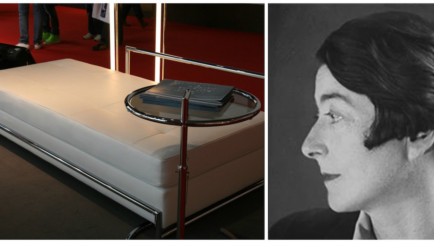 Eileen Gray Daybed (1925)   © design_lounge/Flickr / Eileen Gray circa 1910   © Public domain/WikiCommons