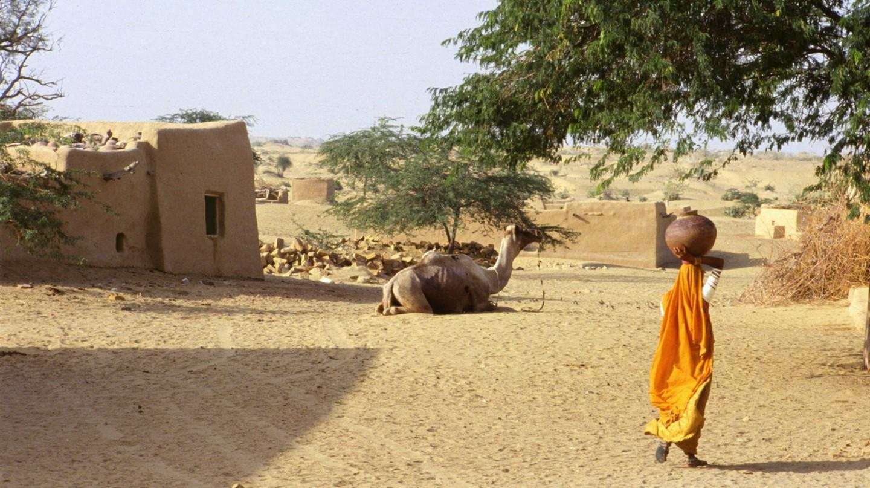 Village in Rajasthan Hamon JP/WikiCommons