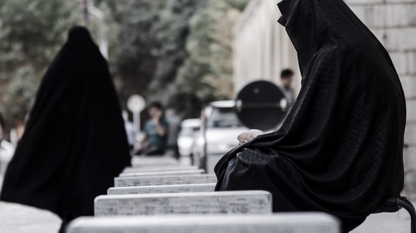 Women covered up in Iran © Marcelmulder68 / Majid Korang beheshti/Unsplash