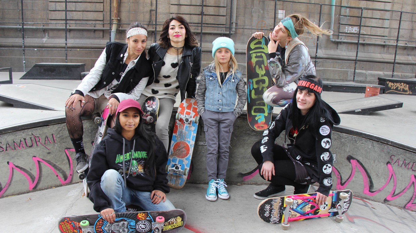 More and more girls and women are skateboarding in recent years | Courtesy of Tracey Herishen