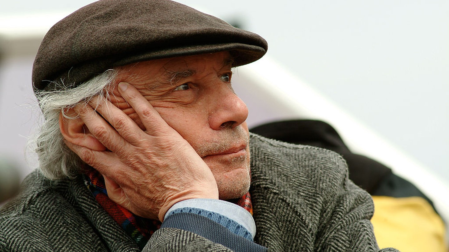 Jacques Rivette filming in 2006 │© Raphael Van Sitteren
