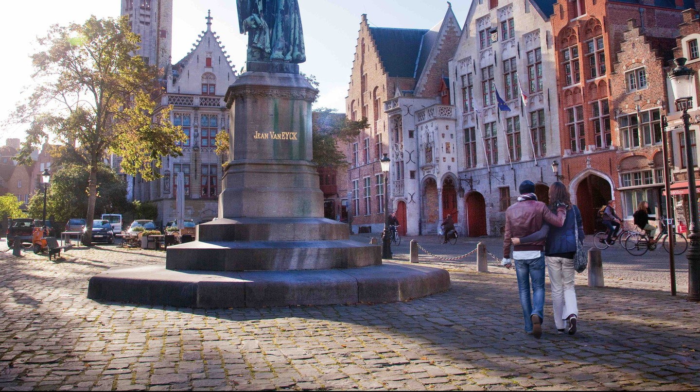 Jan Van Eyckplein   © Jan D'Hondt/courtesy of Toerisme Brugge