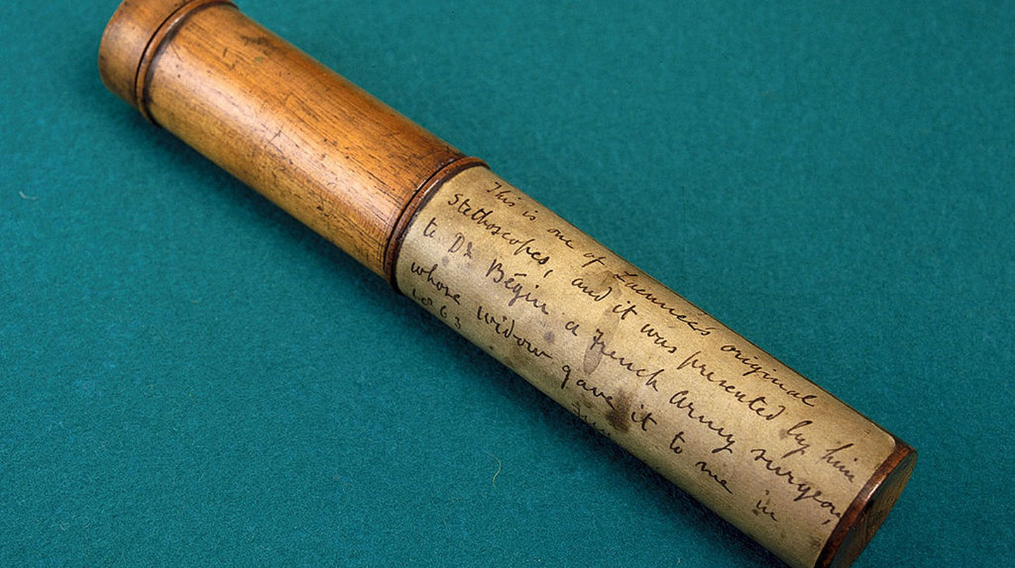 Laennec's Stethoscope, c.1820.| © By Science Museum London / Science and Society Picture Library/Wikimedia Commons