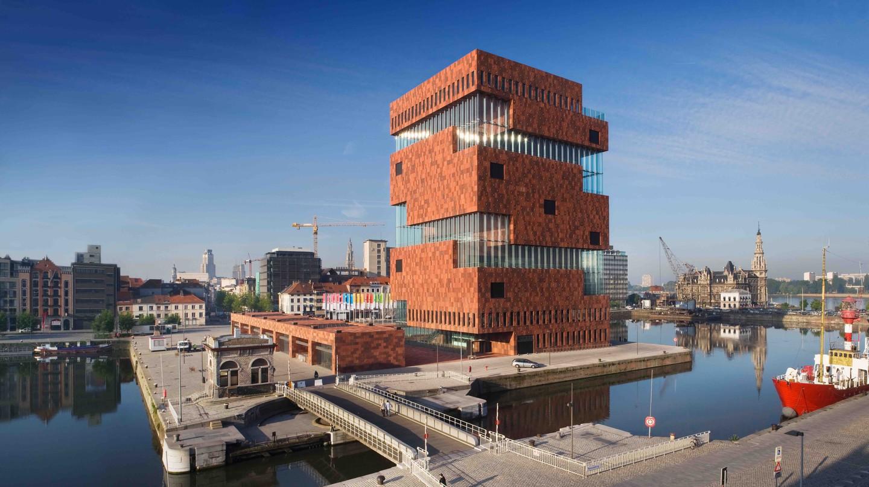 The MAS | © Sarah Blee, Neutelings Riedijk Architecten/Courtesy of Visit Antwerp