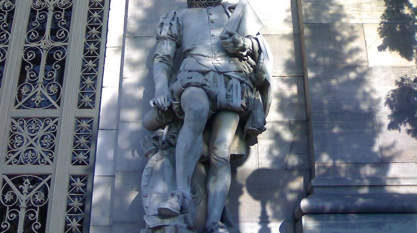 Miguel de Cervantes at the National Library | ©ÁWá