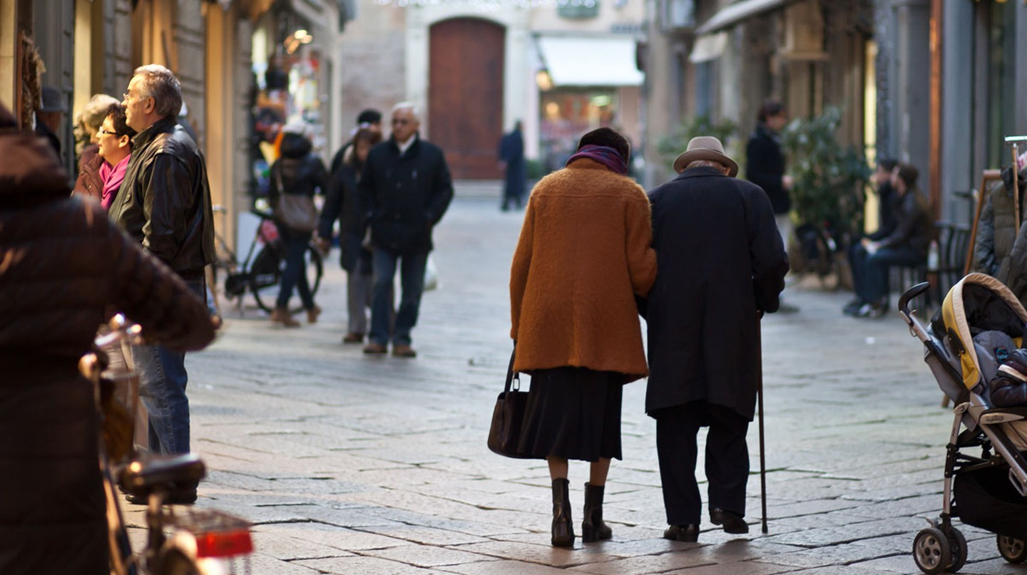 An elderly couple | © Flickr/Matteo Paciotti