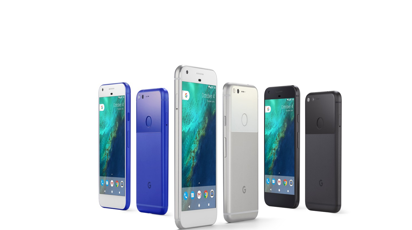 The Google Pixel family of phones | Courtesy Google.