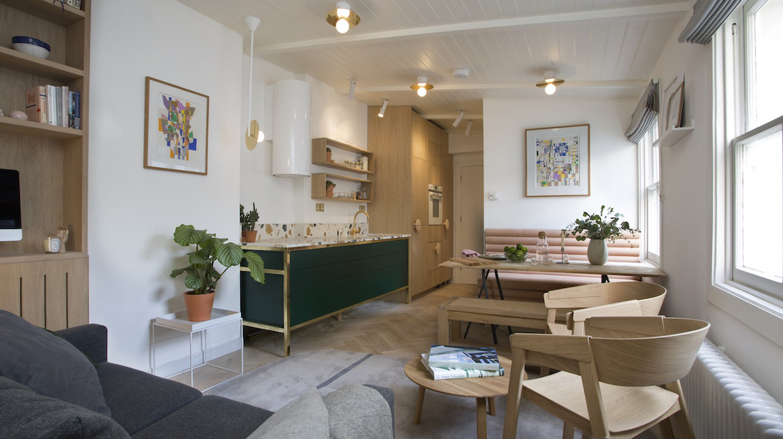Play Associates designed this small London flat | © Robert Sanderson
