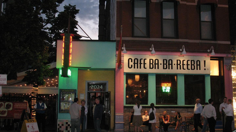 Café Ba-Ba-Reeba, courtesy of Flickr: squidish