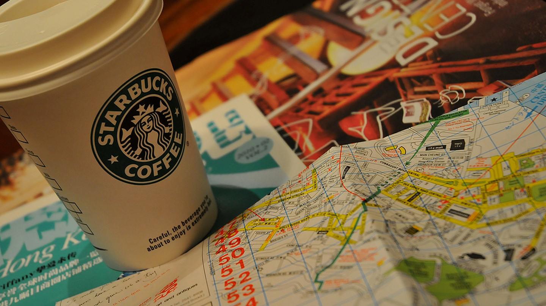 Hong Kong 香港 @ Starbucks | © Teresa Qin