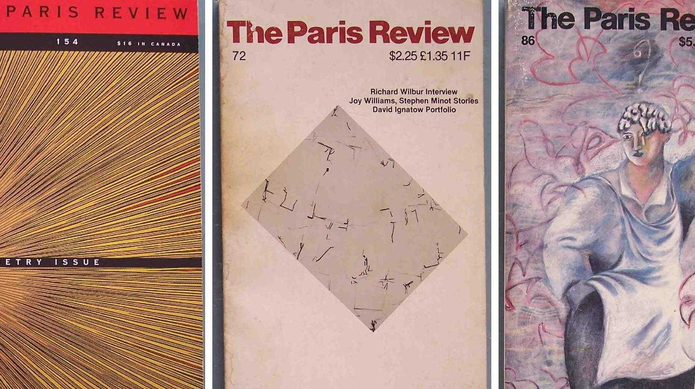 The Paris Review, Issue #72 │© CHRIS DRUMM ; The Paris Review, Issue #86 │© CHRIS DRUMM ; The Paris Review, Issue #154│© CHRIS DRUMM