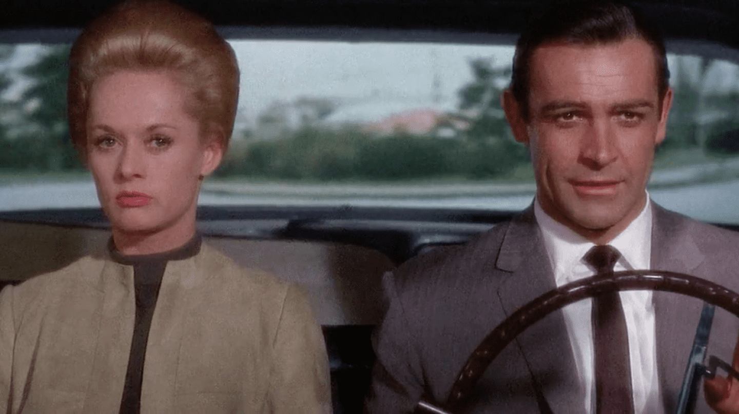 "Sean Connery And Tippi Hedren In ""Marnie"" 
