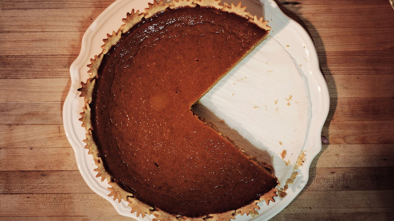 Nom nom nom ... pacman pumpkin pie | © Daniel Catt/Wikicommons