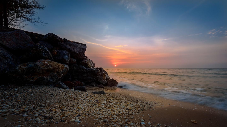 Sunrise on the Gulf of Thailand    ©  Courtesy of Joe deSousa/Flickr