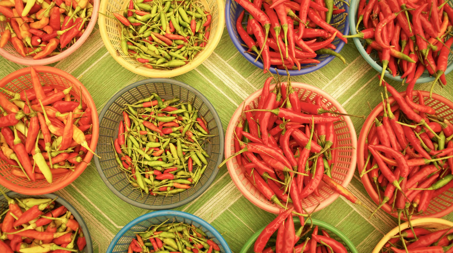 Thai Chilies Courtesy of Kelly Iverson