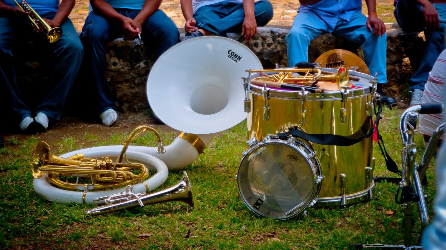 Mexican musical instruments | © ALEX MARDUK/Flickr