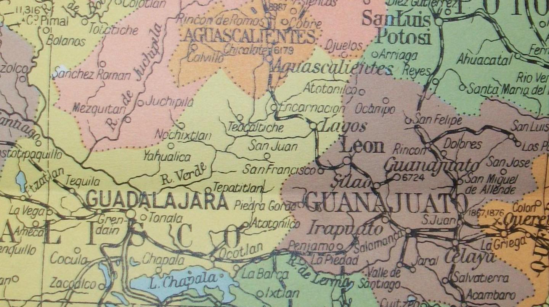 Mexico Map   © David/Flickr