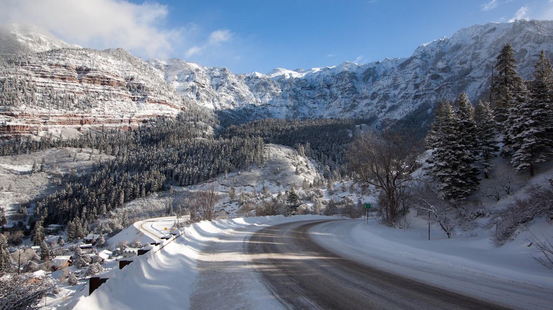 Snow-Covered 'Million Dollar Highway' | © Alan Stark/Flickr