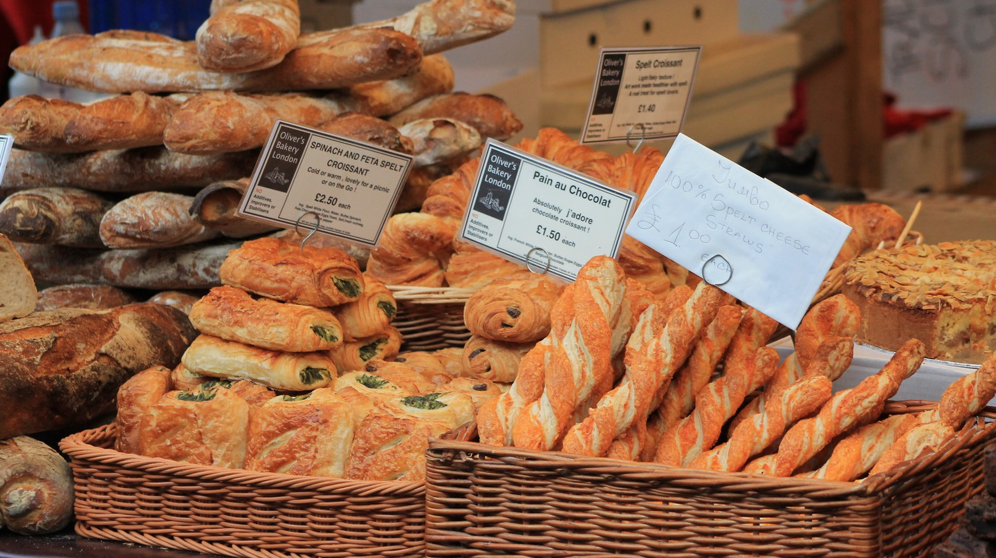 Bread at Borough Market|©GateC21/Flickr