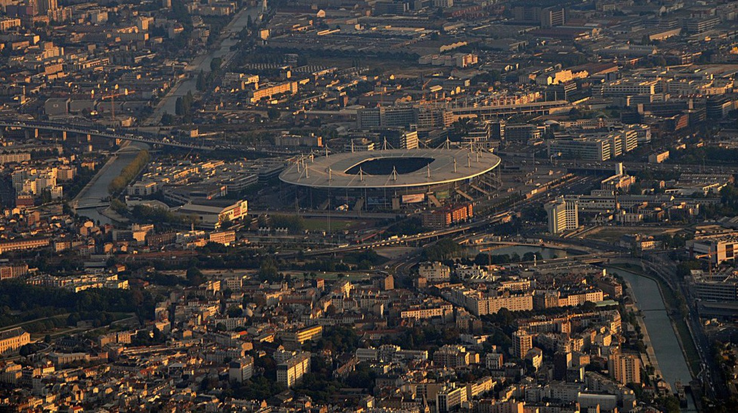 Aerial view of the Stade de France │© Citizen59