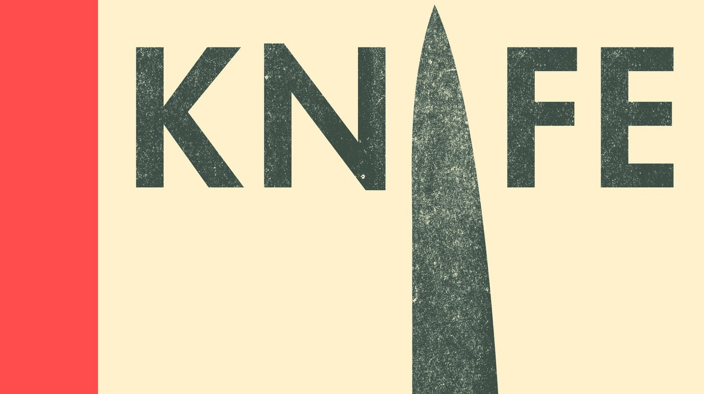 The cover of Knife, by Tim Hayward | Courtesy of Quadrille