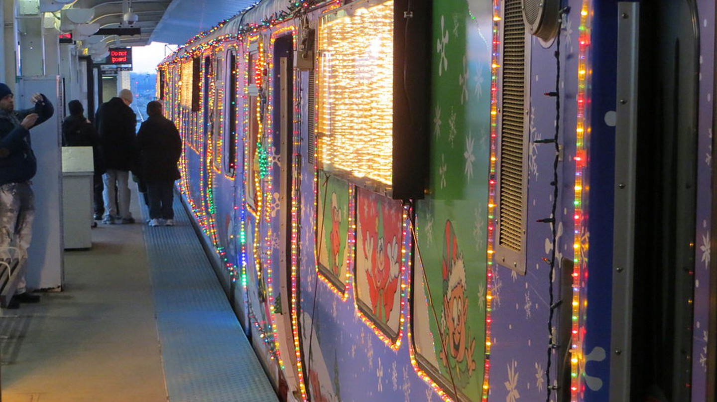 The CTA Holiday Train | © David Wilson/WikiCommons