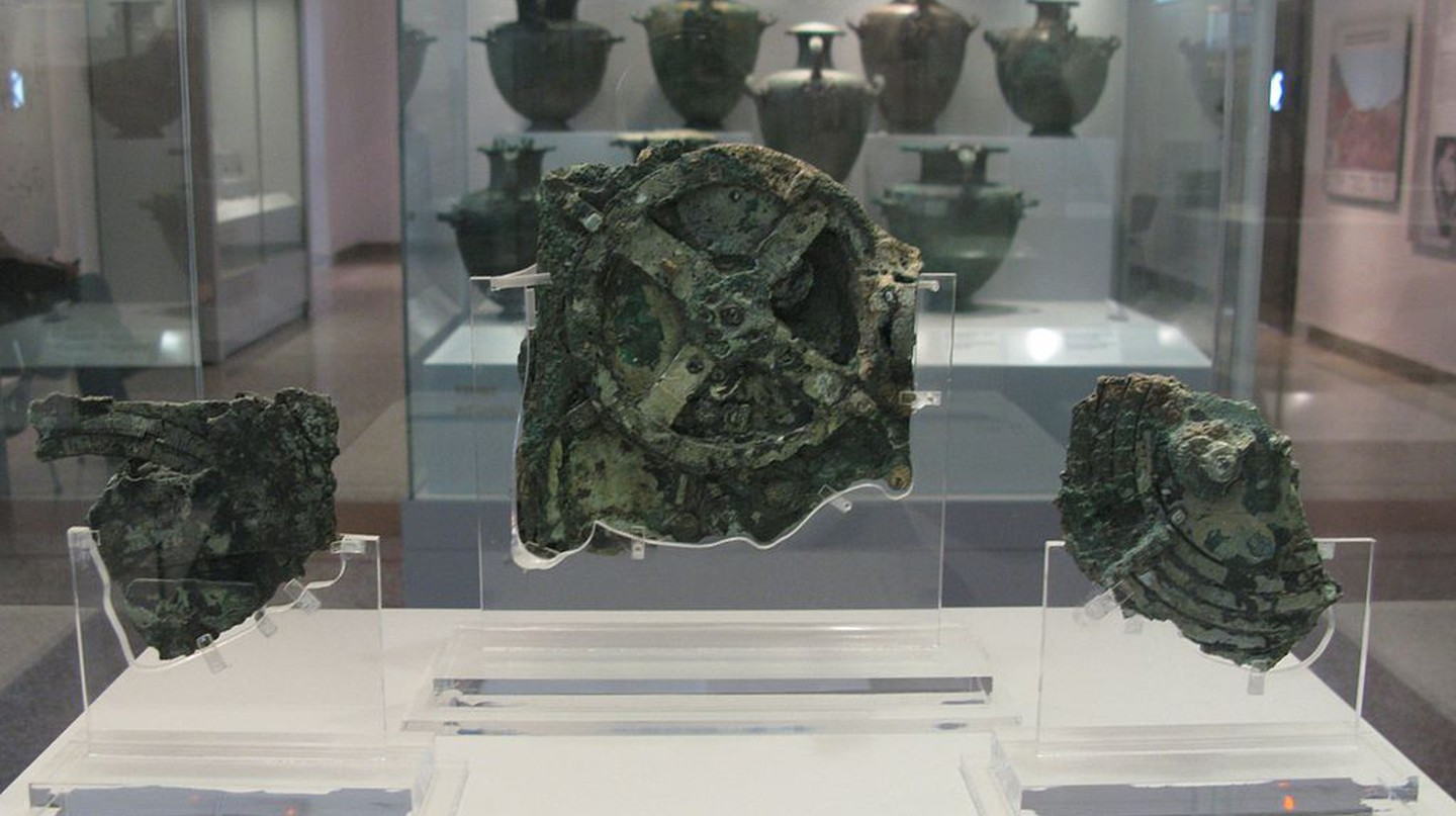 The Antikythera Mechanism | © Tilemahos Efthimiadis/WikiCommons