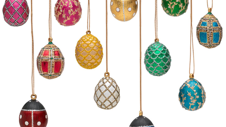 Russian Imperial Mini Egg Ornament Set  at the Metropolitan Museum of Art Gift Shop