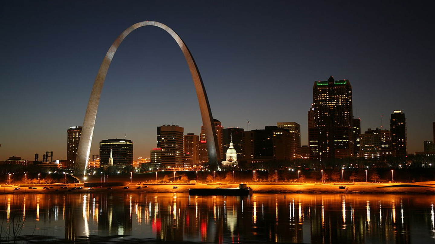St Louis night | © Daniel Schwen/WikiCommons